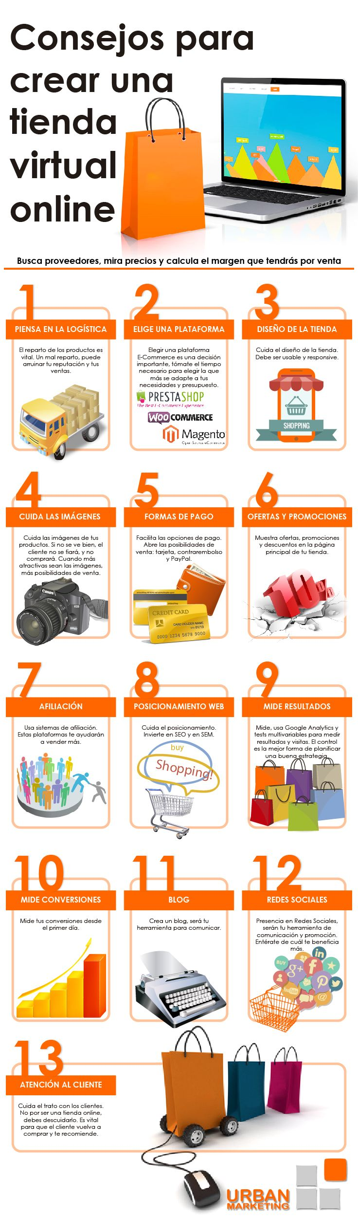 consejos tienda online infografia