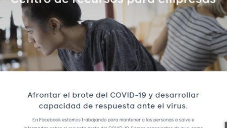 Facebook ayudará a pymes afectadas por el COVID-19